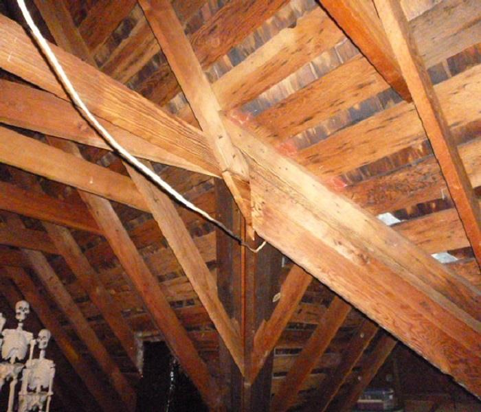 Historical Home Attic Clean up with Dry Ice After