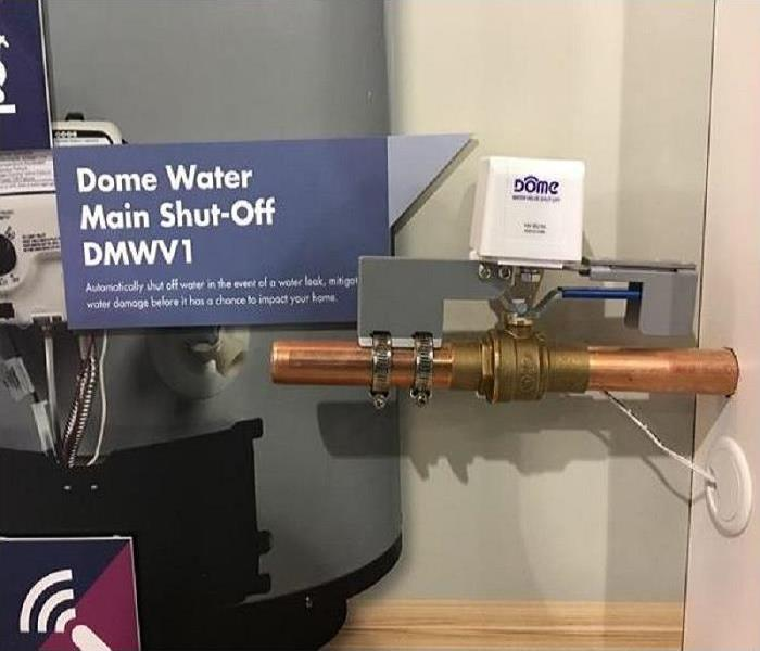 Water Damage Dome's Shut-Off Valve